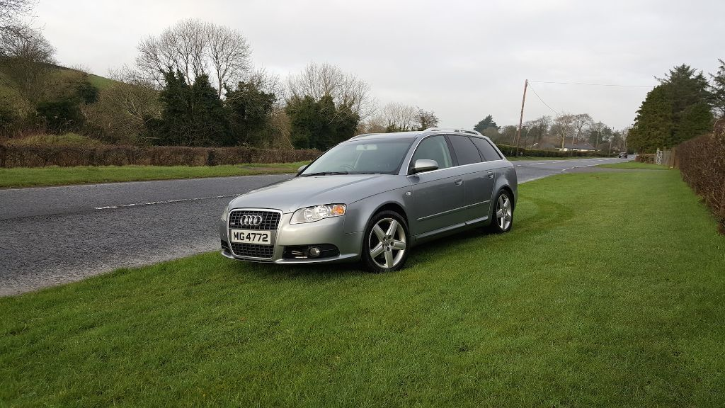 Audi A4 B7 Avant S Line 7 Speed Multitronic Full Mot