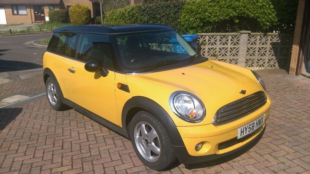 2008 Mini Cooper Clubman Automatic 16 Yellow Low Mileage In