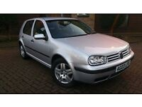 Golf 1.4 56000 miles, 12 month mot, 2 owners,service history