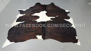 Cowhide Rug Cowichan Imported From Brazil Perfect For Home Stage, Interior Design, Upholster