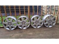 4 x Alloys 16 inches. Came off a SEAT ALTEA XL But will fit VW/SKODA/AUDI...Etc.