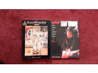 Allman Brothers & Gary Moore guitar tab books