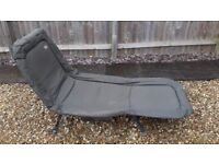 Capture Fishing Chair / Lounger / Bed - Folding Padded Frame - COLLECTION ONLY