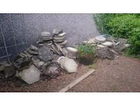 Free paving stones