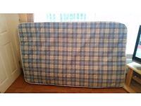 4ft matress used twice like brand new, £15