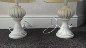2No Table Lamps