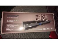 Toni & Guy XL wide hair straighteners