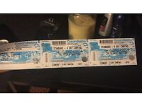 2x creamfield 4 day camping tickets