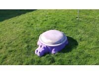 Hippo sandpit