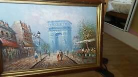 Burnett Paris painting