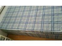 Standard double bed with matress only 6 weeks old