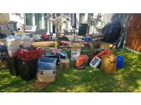 MASSIVE JOB LOT MIX OF EVERYTHING, PC GAMES, TOOLS, ELECTRICALS, TOYS ETC GRAYS AREA