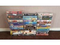 73 VHS video tape movies