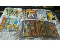 Simpsons Comics and Scene It lot