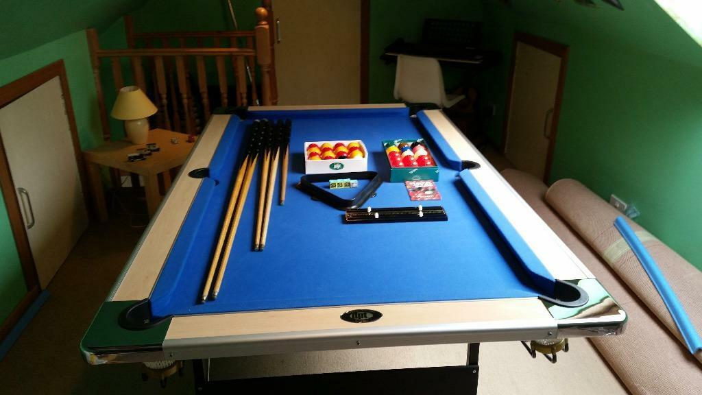 6ft x 3ft folding pool table in motherwell north for Pool table 6 x 3