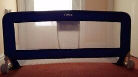 Tomy universal blue bed rail