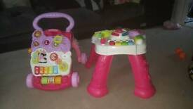 Vtech Baby Walker & Activity Table