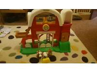 Fisher price farm and garage