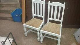 Solid wood chairs free