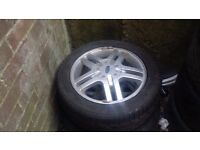 15 inch single alloy with good tyre ford focus ford fiesta Ford fusion puma