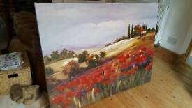 French Countryside Canvas