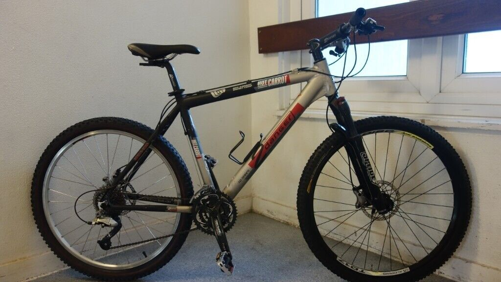 2Danger Hot Carrot German Bike - Shimano Deore XT and LX  Reduced to £210 |  in Tower Hamlets, London | Gumtree