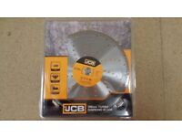 New JCB 300mm Turbo DIAMOND DISC BLADE Concrete Stone Saw Disc Angle Grinder Cut