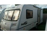 2006 bailey pageant Monarch series 5 2 berth light weight with a fitted motormover vgc