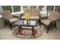 Conservatory/Patio 4 Piece Furniture Set