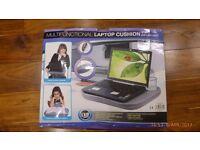 Laptop cushion with led light