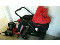Hauck Colt travel system with extras