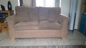 ALSTONS 2 SEATER SOFA AND ARMCHAIR (Very Good Condition)