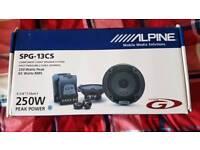 Alpine speakers SPG-13CS (Very good condition)