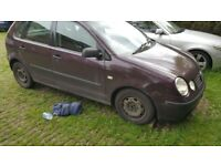 VW POLO 1.4 TDI Spares or repairs