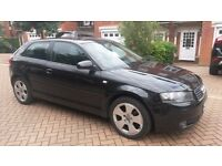 * Audi A3 1.9TDI 2004 Model* Black* New Mot* Cambelt Replaced* Good Example* Look No More*