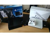 immaculate condition PS4 and Xbox one S Swap both for PS4 PRO