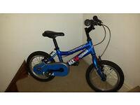 Ridgeback MX14 terrain bike.