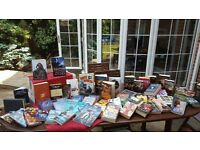 Large Book Collection - 50+ books suitable for an avid reader or a boot sale!