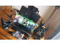Xbox one and lots of goodies.