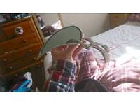 Motorcycle chrome tear drop mirrors