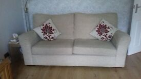 excellant condition large 2 seater sofa