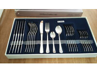BRAND NEW 24 Piece Stainless Steel Cutlery Set by Judge (25yr guarantee)