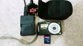 Panasonic fs16 14.1mp compact digital camera.