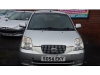 Kia Picanto 1.1 Petrol 5 Door Manual in Silver full mot