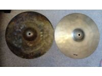 14 Dream Energy G2 Hihats 16 Stagg SH Medium Crash 20 Sabian Solar Ride Free P+P!