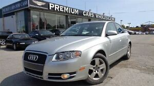 2006 Audi A4 2.0T Low KM!! Leather/ Sunroof/ Heated Seats