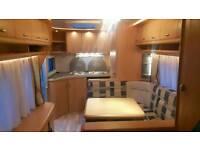 Hobby Caravan 2008 model, Single Axel, Unique Layout