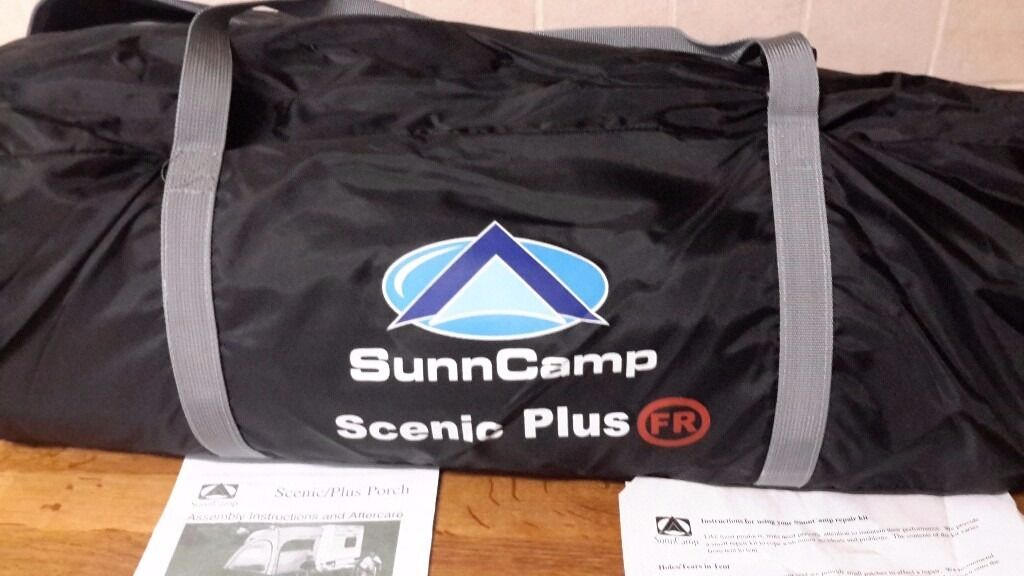 Caravan porch awning. Sunncamp scenic plus. | in Newark ...