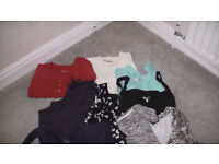 Bundle of top quality women's tops etc. VGC 12 items. All Size 24