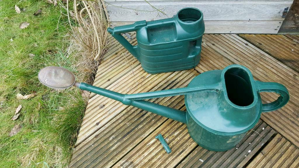 Haws watering can with brass rose